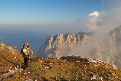 Hiking and climbing in Slovenia