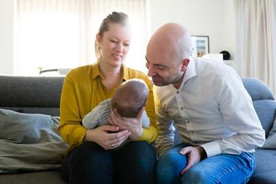 Lifestyle gezinsfotoshoot Amersfoort