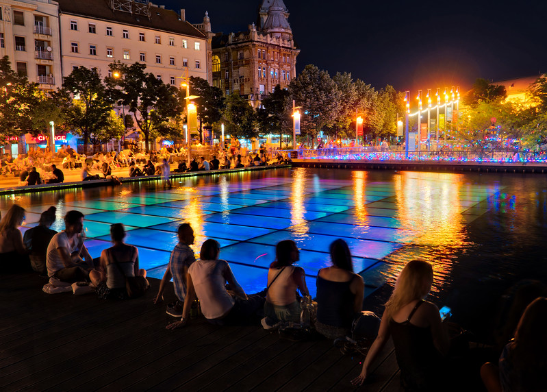 Evenings In Budapest, Hungary