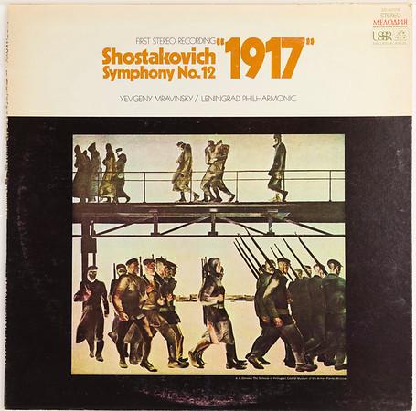 Angel-Melodiya SR-40128 Shostakovich Sym 12