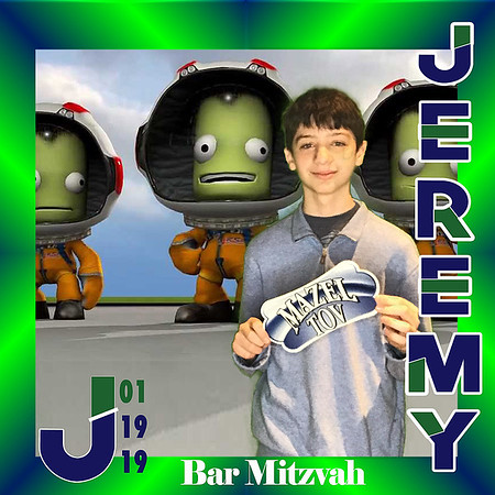 Jeremy Levine Bar Mitzvah Photobooth
