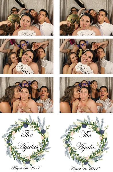 Lindsey & Adam's Wedding - 8.5.17 - Photo Strips