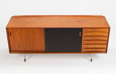 'Trienale' sideboard designed by Arne Vodder and manufactured by Sibast of Denmark in the 1950's
