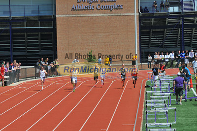 Men's 800 Final - 2013 GLIAC Outdoor Track and Field Championships