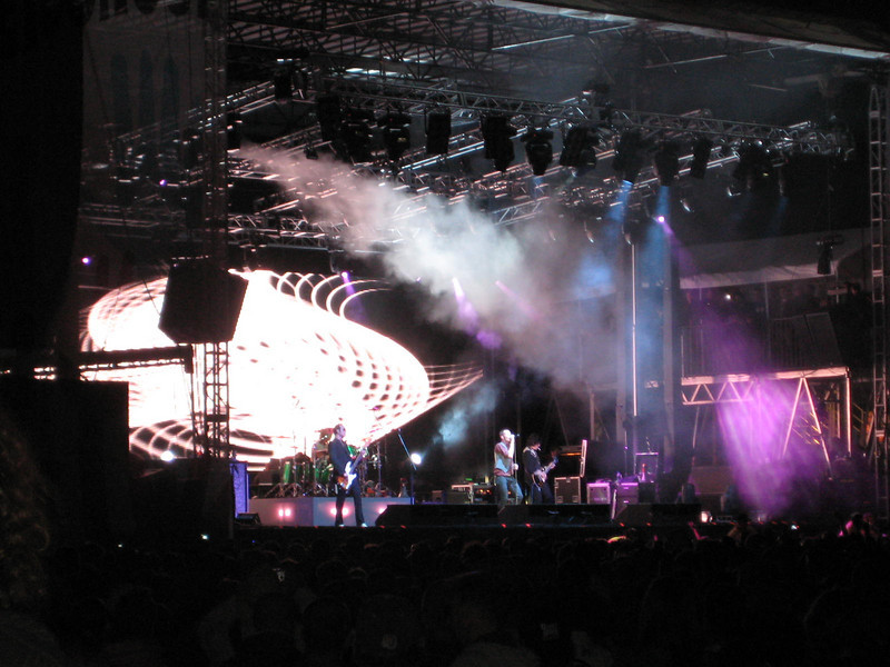 STP on the main stage.