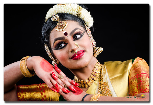 Meghana's Mohiniyattam Portraits 2020