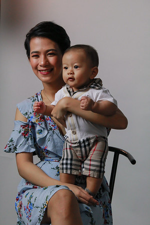 Kristine and Baby Lucas