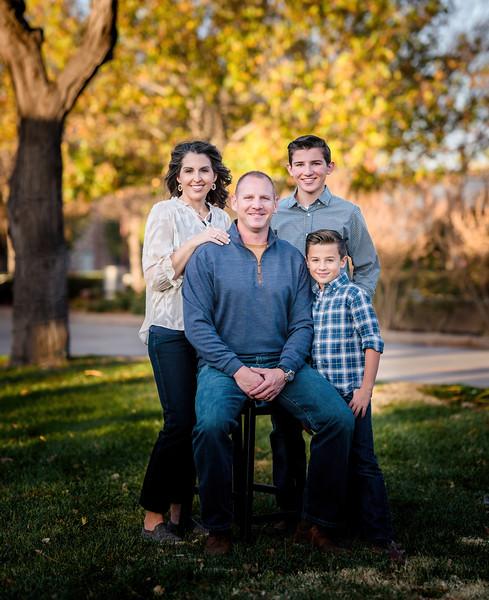 Huddleston Fall family photos