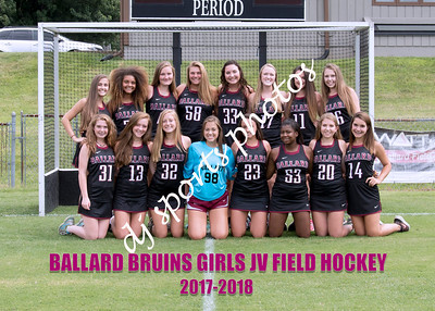 Ballard Girls Field Hockey Team & Individuals
