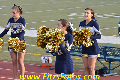 Freshman Cheer vs. MVHS