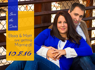 Elissa and Matt Save The Dates