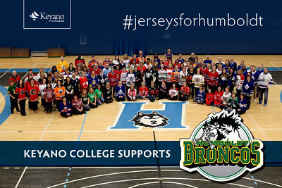 Keyano College  #jerseysforhumboldt
