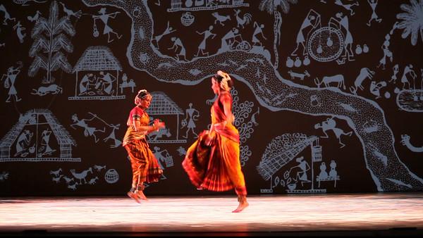20120709 Ragamala Dance, Duke Reynolds Theatre, 'Sacred Earth' rehearsal