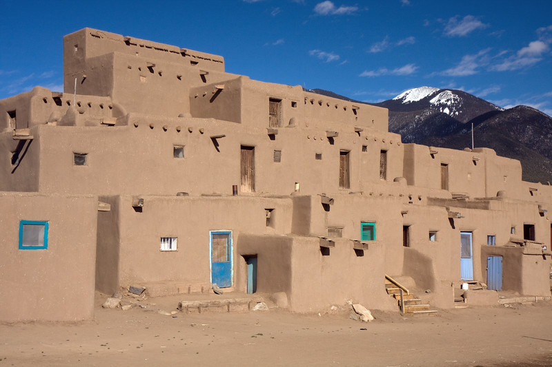 On the way home, we made a quick stop by the Taos Pueblo for some sightseeing and Indian Fry Bread.
