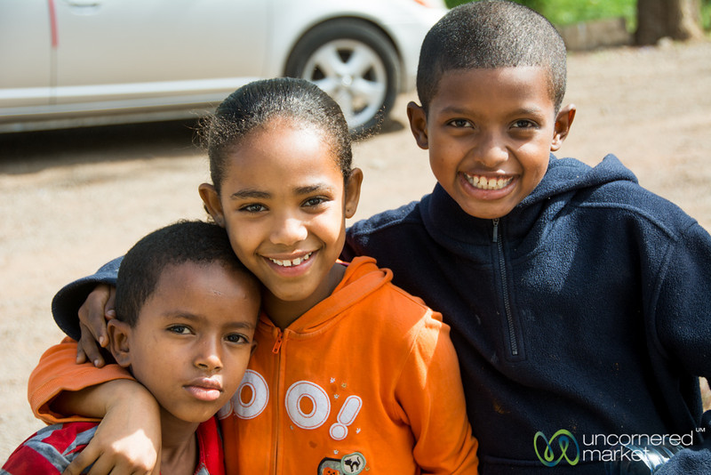 Smiling Kids of Bahir Dar, Ethiopia