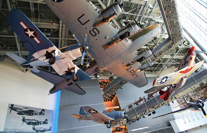 We visit the New Orleans WW-II museum on the day before we depart.