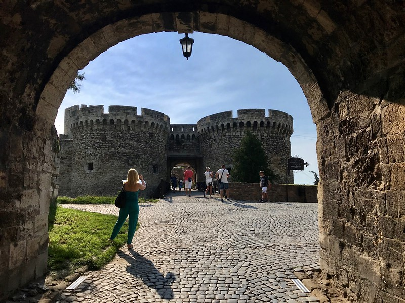at Kalemegdan Citadel in Belgrade