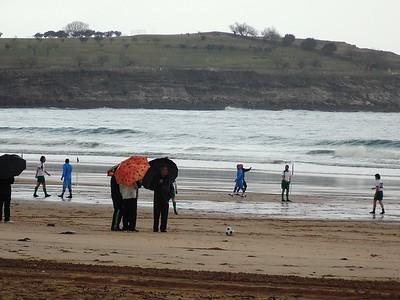 Racing Santander & beach soccer - Feb 2015