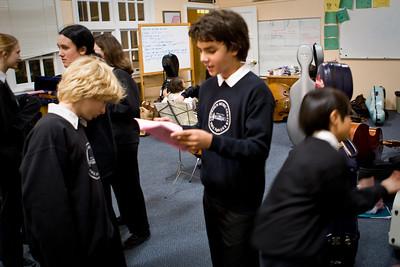 Upper School November 6th,2008