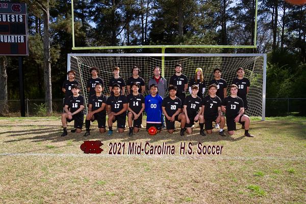2021 Mid Carolina boys varsity soccer