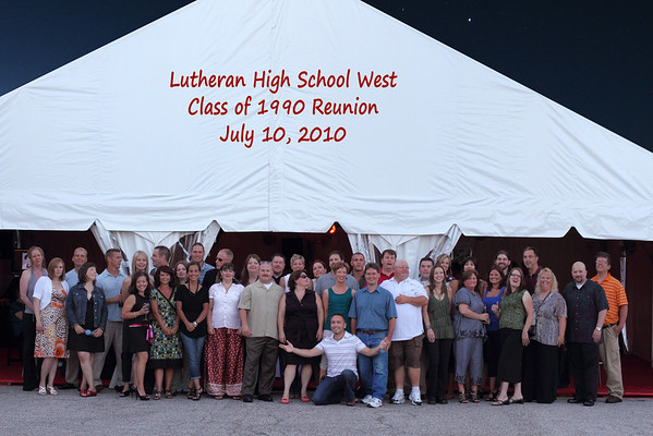 Lutheran High School West 20 Year Reunion
