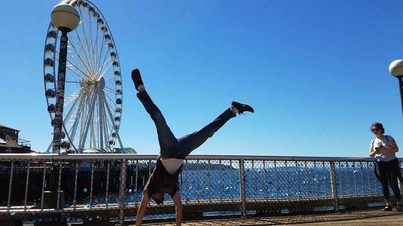 Andres Calderon - Seattle Great Wheel - Seattle - USA