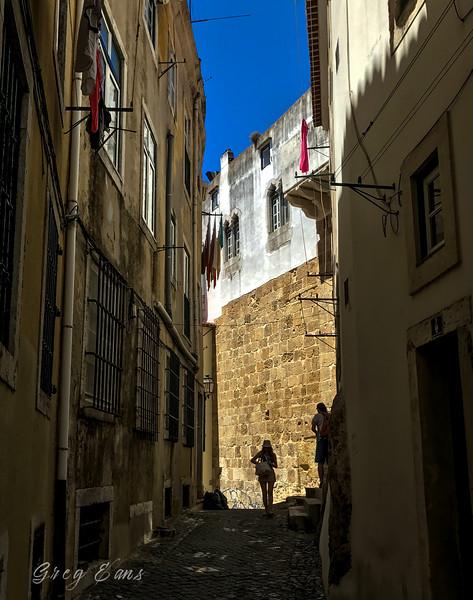 Old Quarter, Lisbon, Portugal.