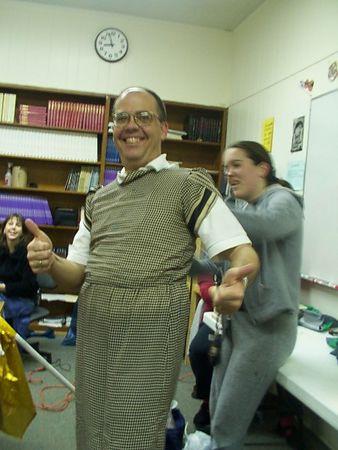 2003-01-10: Varsity Practice