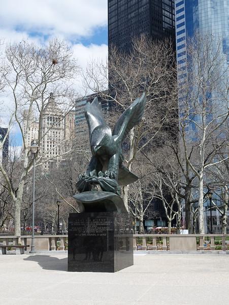 World War Two East Coast Memorial - Battery Park, New York.