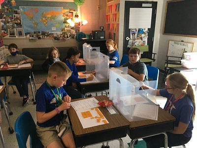 Learning Area & Perimeter with Cheezits