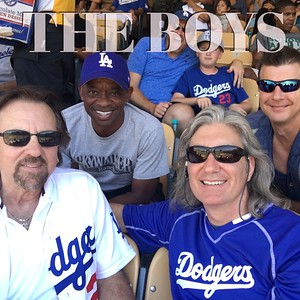 Clayton, Ed, George at the Dodgers