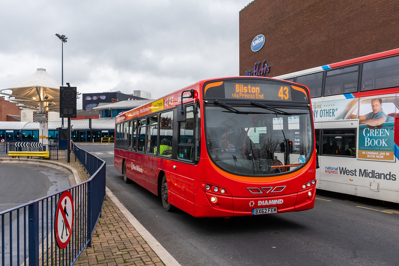 30527, West Bromwich Bus Station