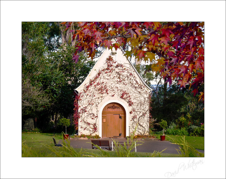 Schoenstatt Shrine Early Winter