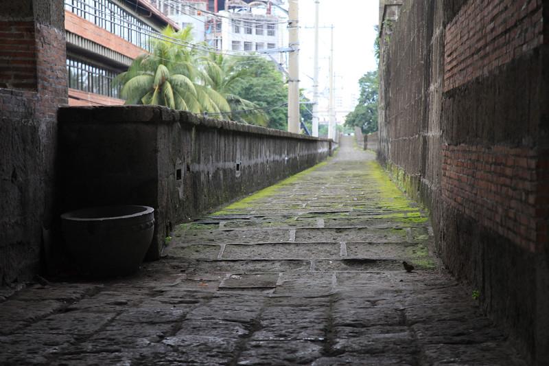 Mury Intramuros - hiszpańskiej fortecy