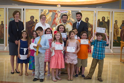 Church School Graduation - May 24, 2015