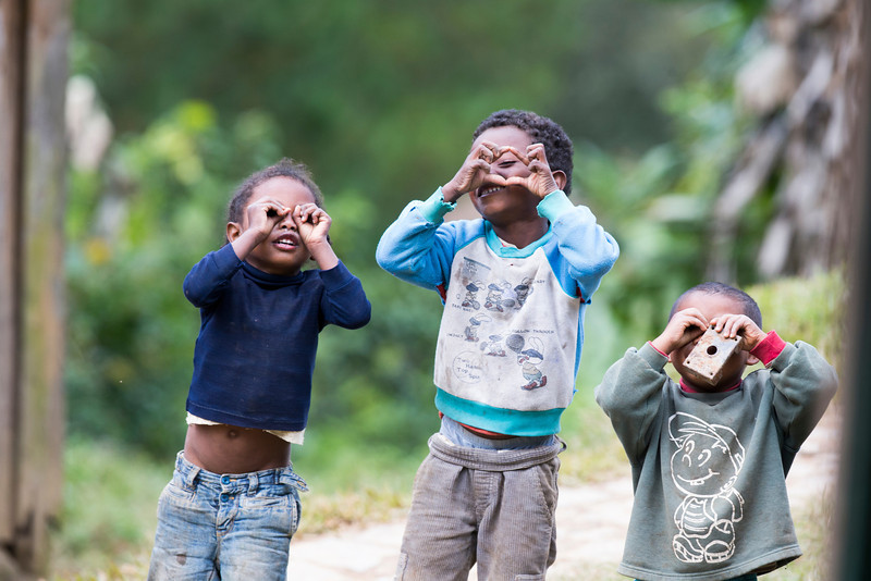 Take Photo Madagascar Kids