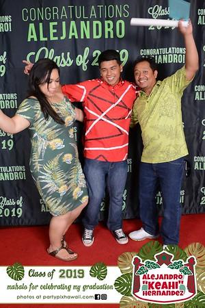 "Alejandro ""Keahi"" Graduation (Red Carpet Wall)"
