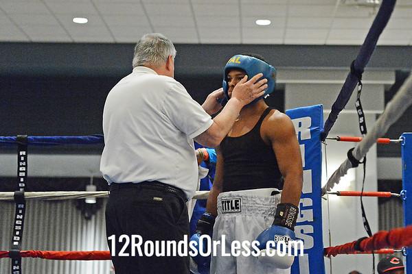 Bout #6  Daywaun Roseberry (Cleveland) vs David Rodriguez (Cleveland)