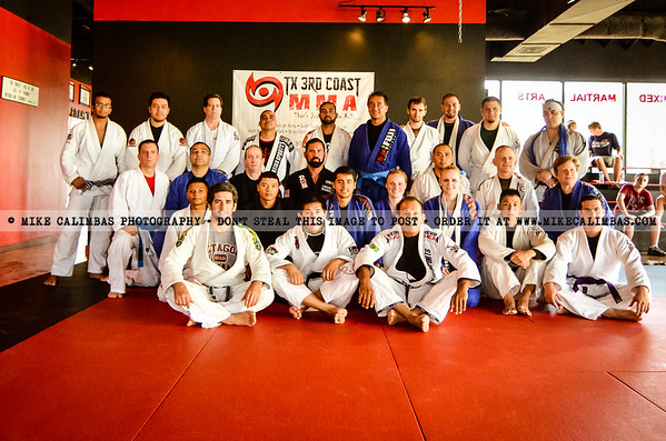 Texas 3rd Coast MMA - 7.7.12 Belt Test