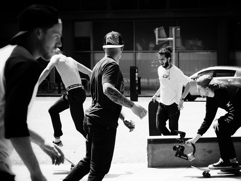 Skateboard Scene