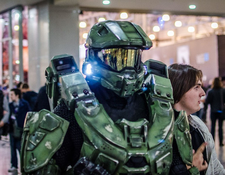 Master Chief at Igromir 2012