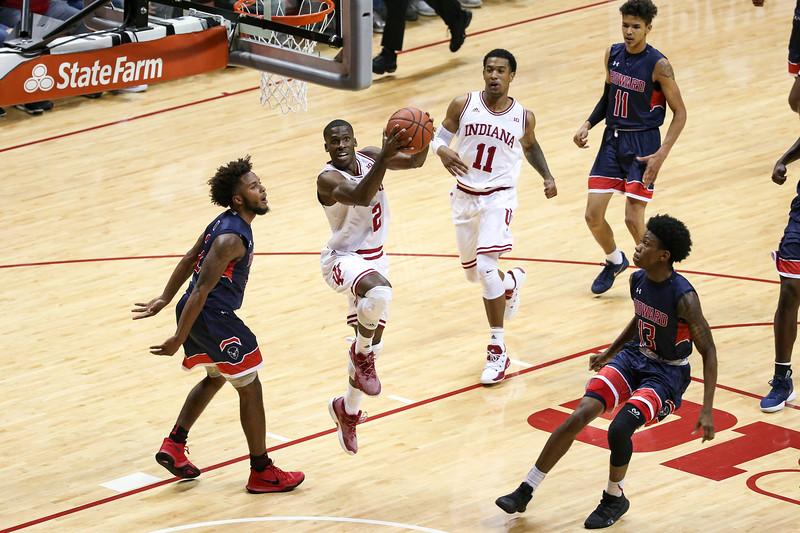 BLOOMINGTON, IN - 2017.11.12 -  Men's Basketball vs. Howard
