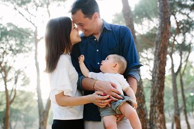 Familia Lorena e Iván