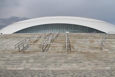 Олимпийская арена, Сочи. Май 2013