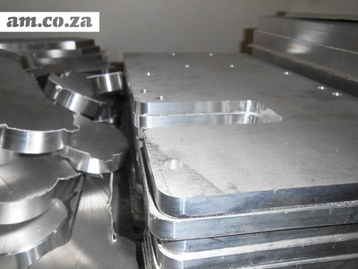 Aluminium Parts Carved by CNC Router at Egli