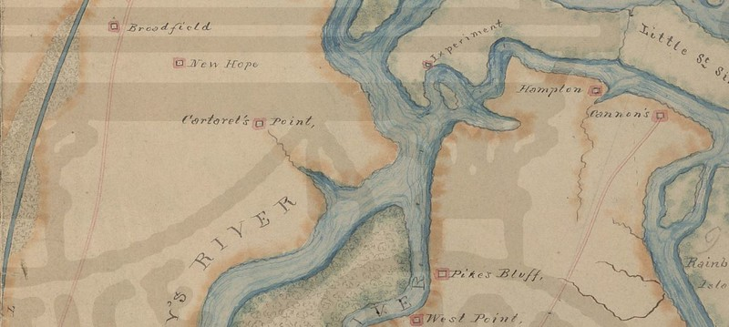 Carteret's Point Near Hofwyl