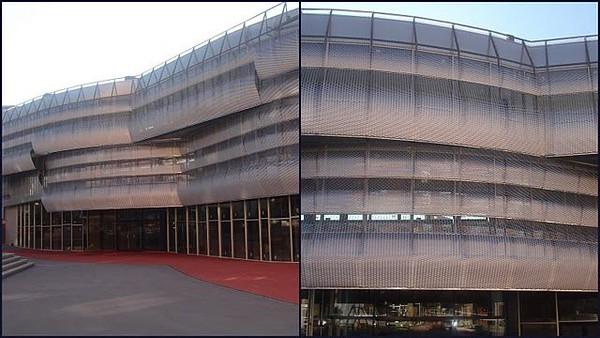 Imar Expanded Alu Facade Barcelona
