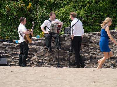 A wedding on a Dingle beach