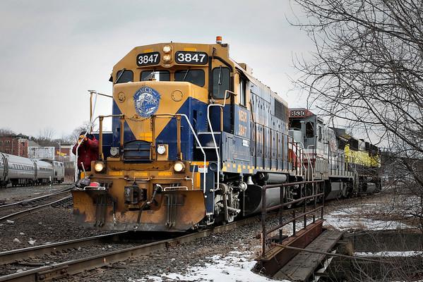 2010 New England Railroading