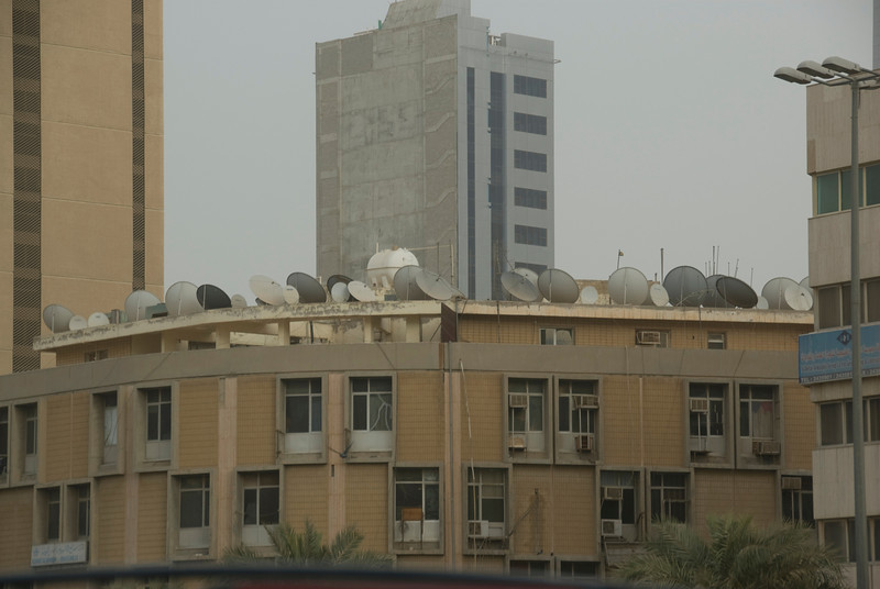 Satellite Dishes - Kuwait City, Kuwait